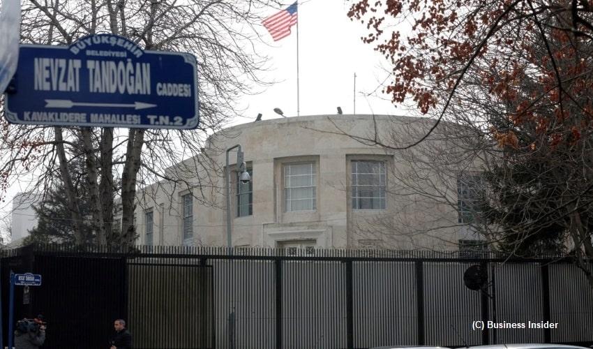 U.S. Embassy in Turkey, Americans, Armenians, Greeks, terrorist acts, foreign citizens in Turkey