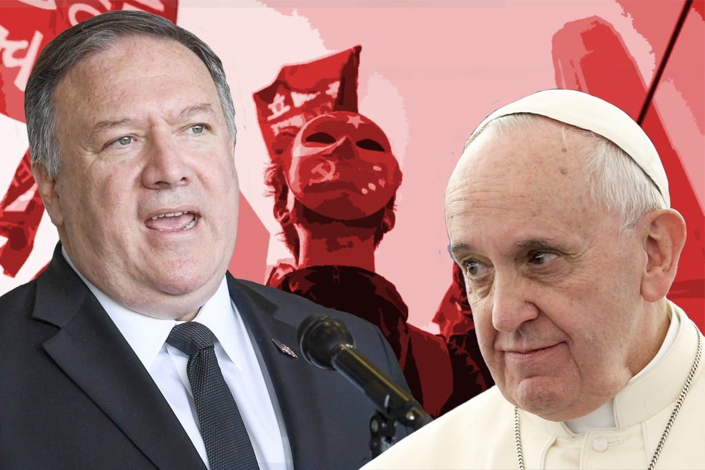 Human rights, Pompeo, Pope, Vatican, China, Xinjiang