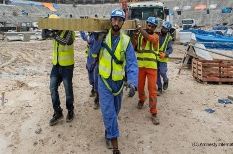 Doha must not drop the ball on workers' rights, Amnesty warns