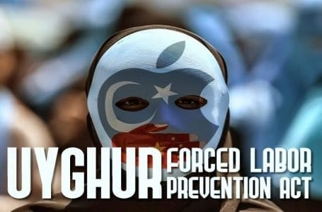 Many US companies including Apple choose business over Uyghur force labor Prevention bill