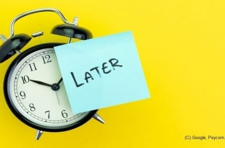 How to tackle Procrastination – biggest enemy of productivity and work life balance