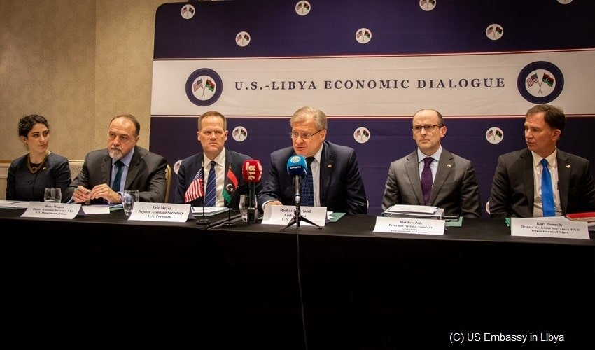 The-U.S.-Embassy-voices-support-for-the-Libyan- in-economic-challenges