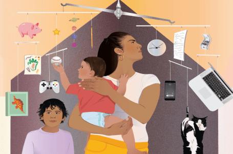 Parents struggle to achieve work-life balance amid COVID-19