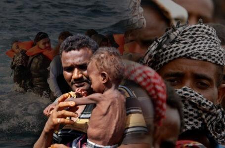 African migrants boat sinks off Yemen coast, dozens feared dead