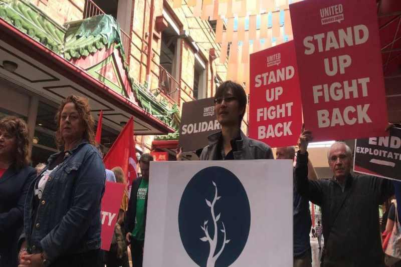 Australia's Chinatown protest