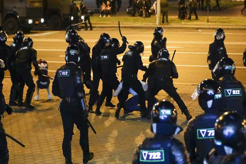 belarus police brutality