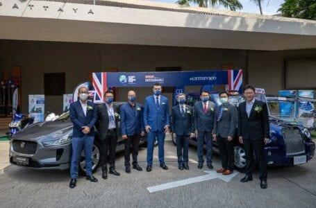 British Embassy Bangkok exhibits British EV and future smart city solutions