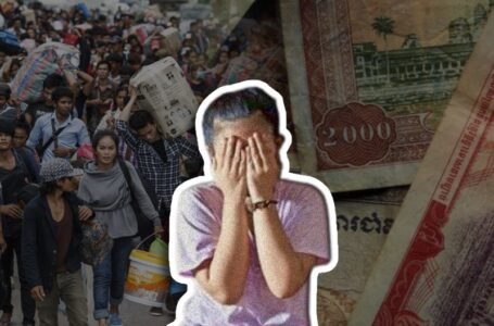 Cambodians risk their lives for money as they illegally enter Thailand