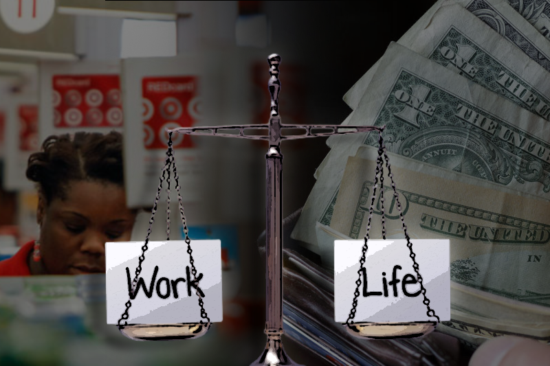 can women of color balance work life with low wages