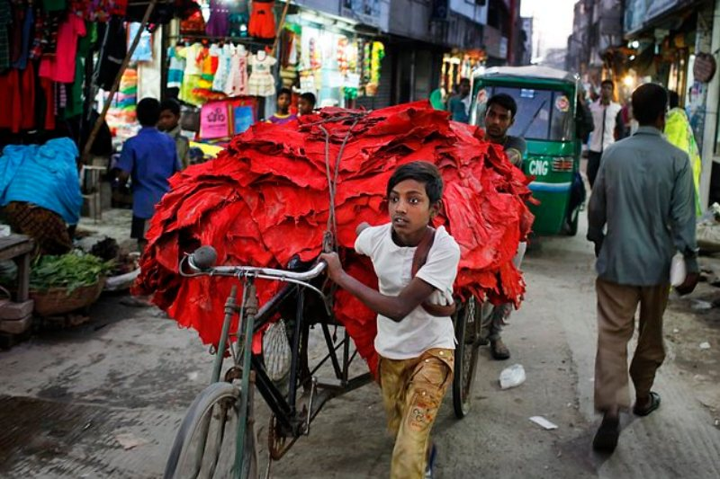child abuse in bangladeshi leather business