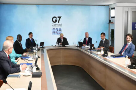 China tells G7 to stop meddling in its internal affairs