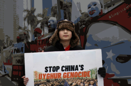 Unhappy with China's treatment of Muslims, people protest outside Chinese embassy in Maldives