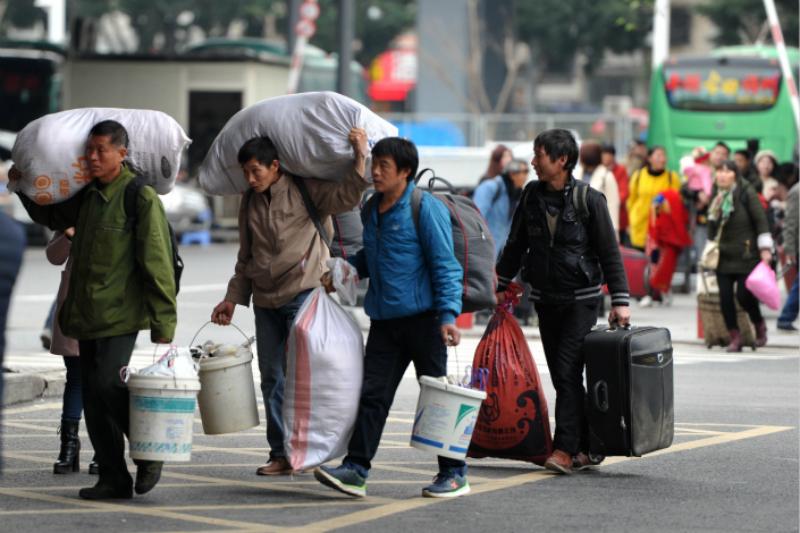 china migrants