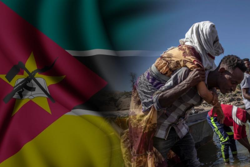 civilians in mozambique