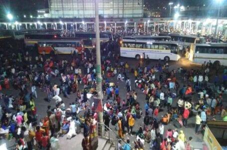 Migrants rush back home as their fear extends amid Delhi's mini lockdown