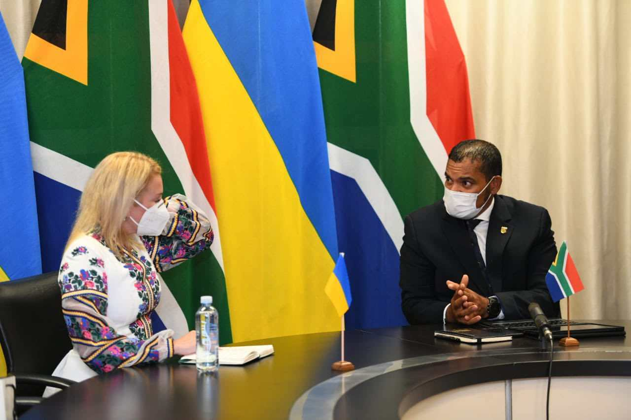 embassy of ukraine to south africa
