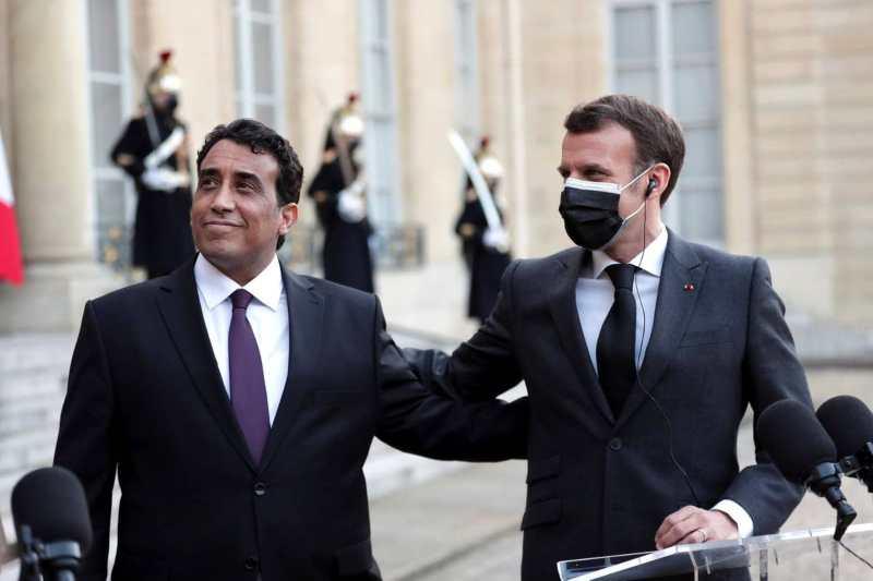 emmanuel macron reopen embassy in libya