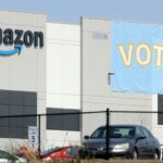 employee group formed by warehouse workers in new york's staten island working for amazon announced its goal to vote on unionization