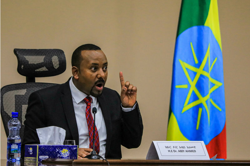 ethiopian pm abiy ahmed not reacts to human rights issues in ethiopia
