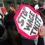 fast food protests shift focus to 'wage theft'