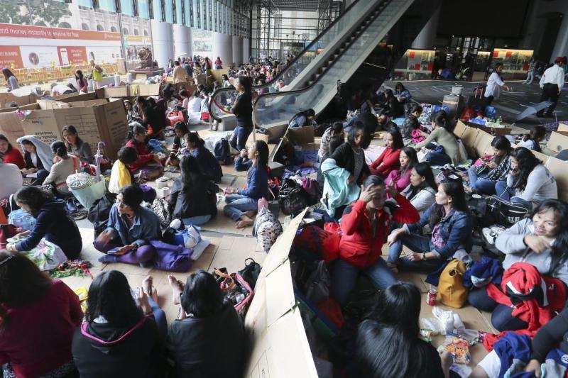hongkong domestic helper
