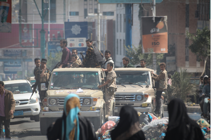 houthis against women