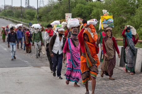 Migrant workers in India struggling to make ends meet amidst pandemic