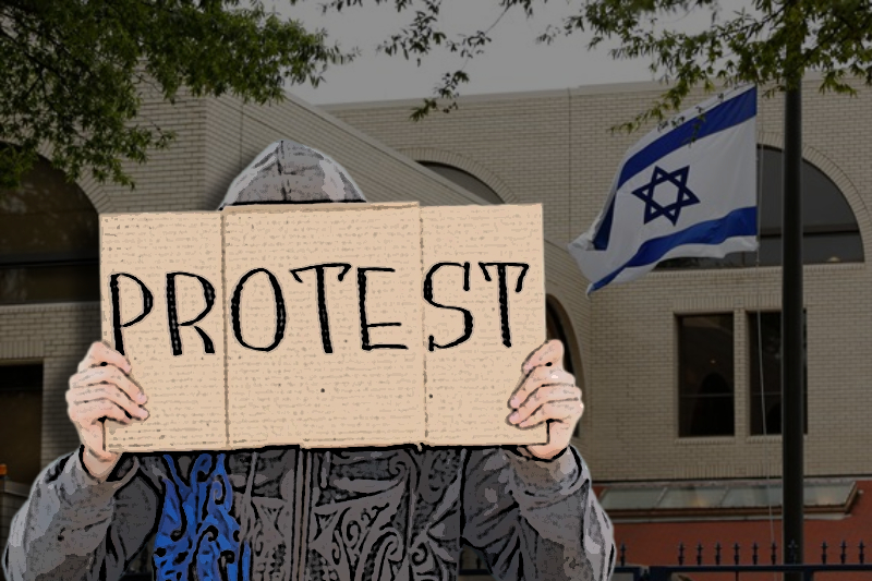 israel spaniards protest