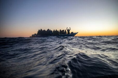 Lampedusa island of Italy receives over 2000 migrants in 24 hours exhausting its capacity