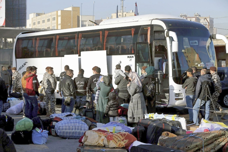 Lebanon says no to deportation of Syrian refugees
