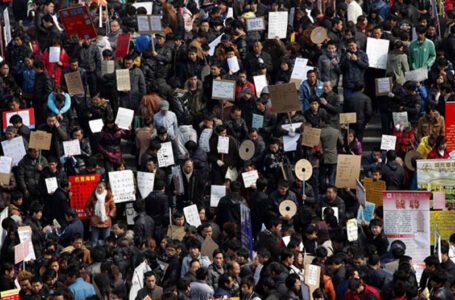 Migrant Workers Protest Inhuman Killing Of Fellow Worker In China