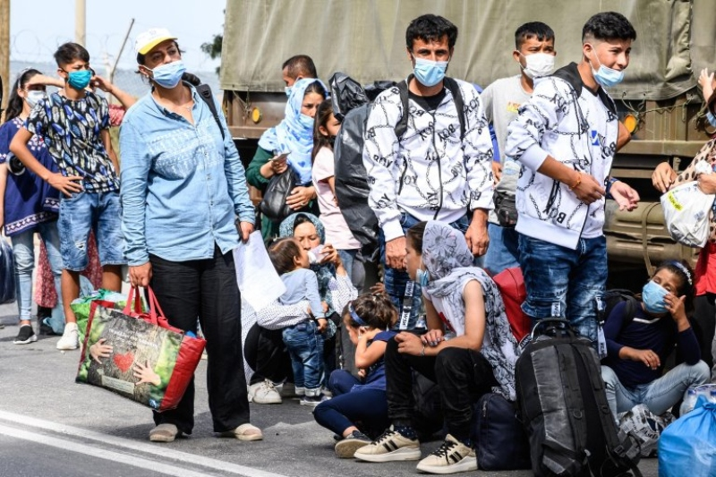 Mitsotakis Determined to stop migrant trafficking