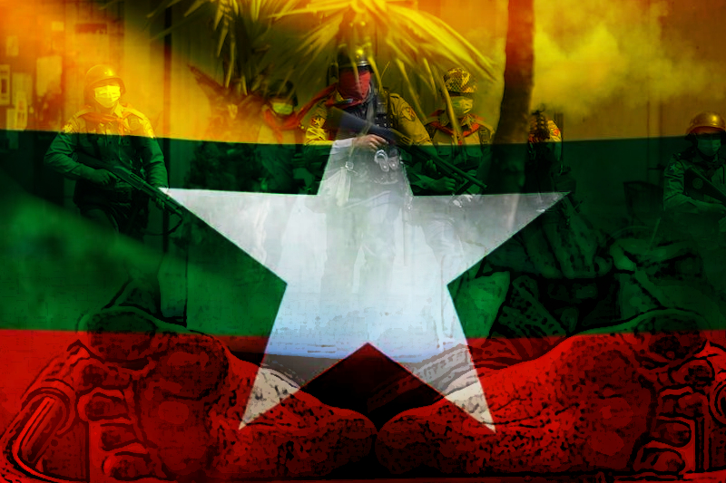 myanmar forces