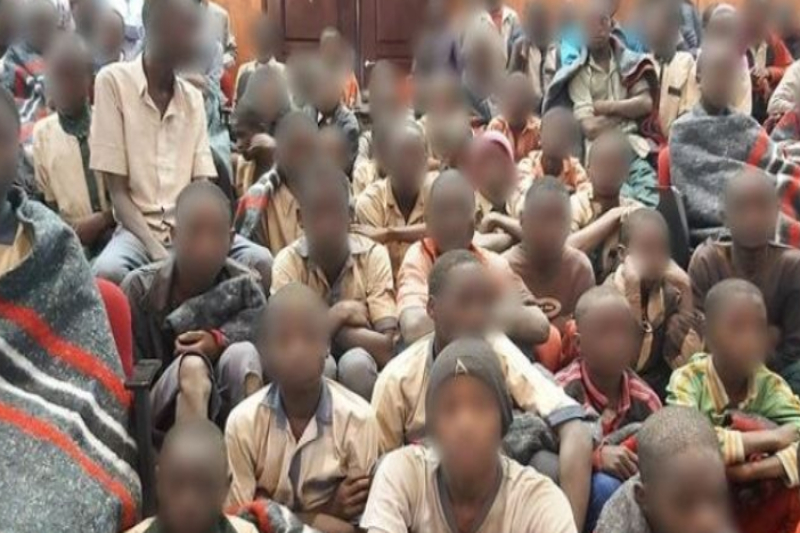 nigeria rescued children