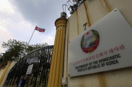 North Korea shutters down its embassy in Malaysia as ties severe between nations