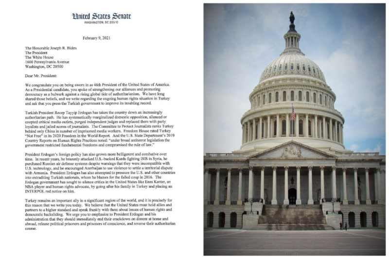 Senate Letter