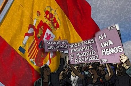 Spain: Thousands of women took to streets on 8 March demanding equal rights