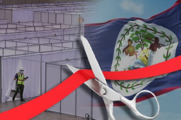 US Embassy donates mobile field hospital to Belize Health Ministry