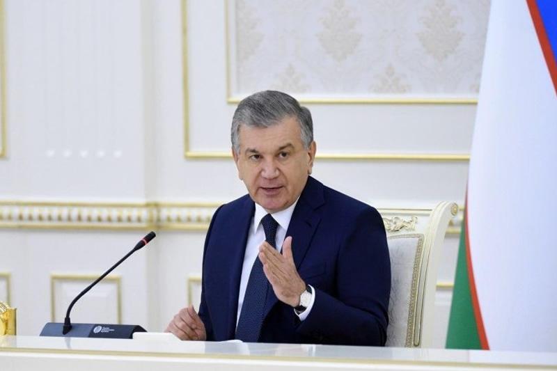 uzbekistan's president shavkat mirziyoyev