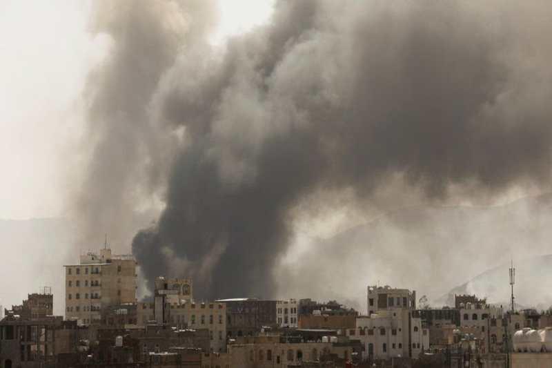 yemen migrant detention centre fire
