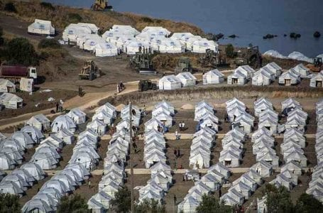 Lesbos refugee camp in Greece heavily contaminated with lead