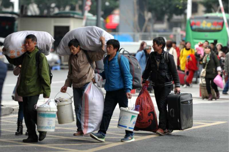 china migrant workers