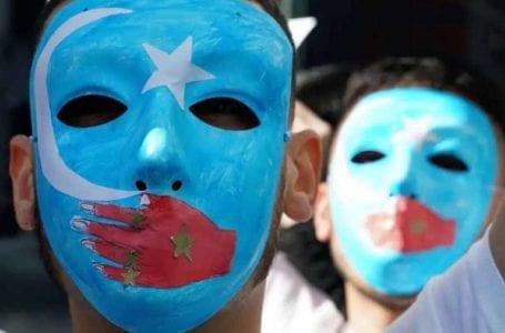 Turkish Bound Uighurs Throng Chinese Embassy Invane