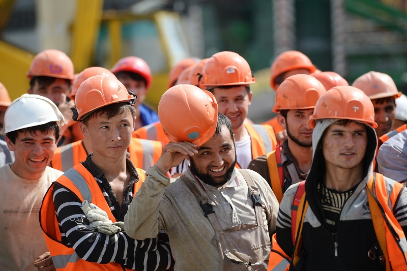Tajik foreign workers