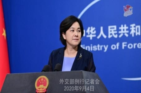 Hua Chunying says 'US Embassy in China is busy sabotaging bilateral relations over baseless remarks'
