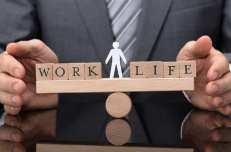 A toxic work-life balance reflects in relations with peers